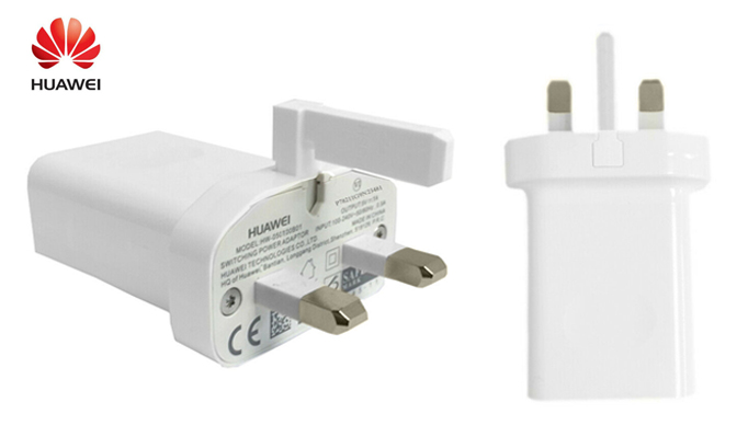 Genuine Huawei 1A USB Mains Charger Plug Travel Adapter Power Outlet