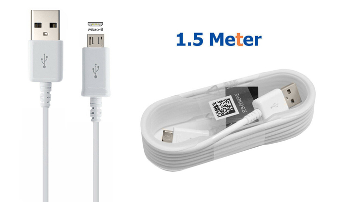 Genuine Samsung Fast 1.5 Meter Charger Cable Charging Lead Data Transfer Cord
