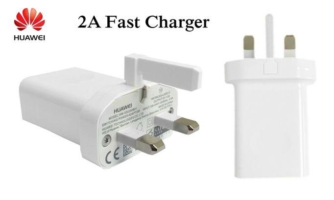 Genuine Huawei 2A Fast USB Charger Plug Travel Adapter Mains Power Outlet
